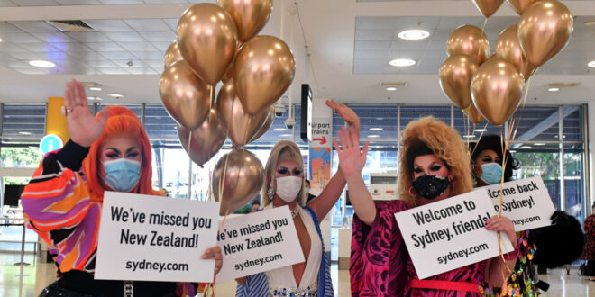 Hugs, tears as Australia and New Zealand 'travel bubble' starts | Aviation News