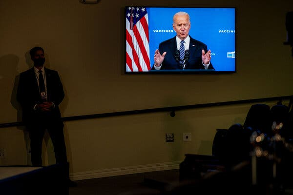 President Joe Biden has addressed the nation about vaccines before, including this time in May.